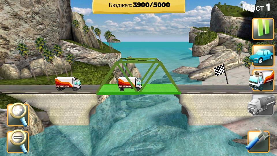 Bridge Constructor на андроид