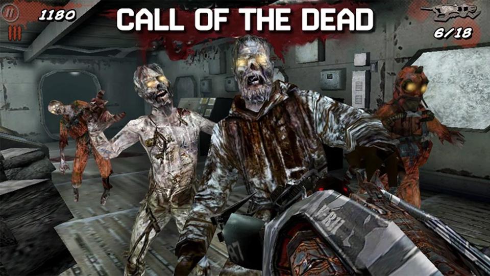 Call of Duty Black Ops Zombies на андроид