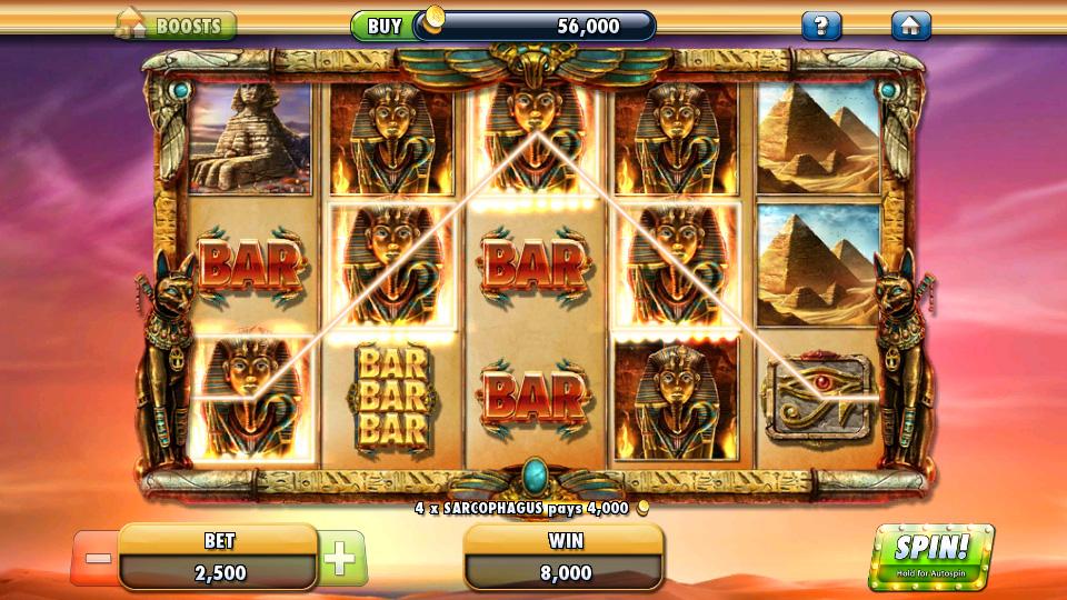 Cleopatra Casino на андроид