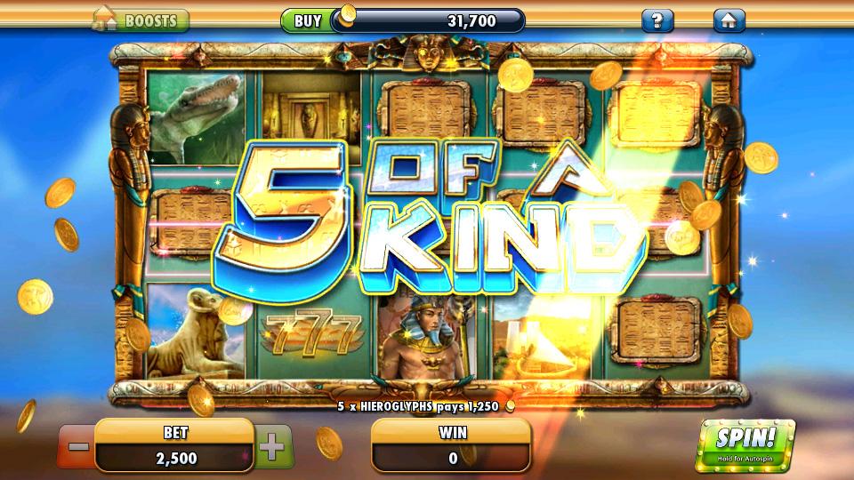 Cleopatra Casino скачать
