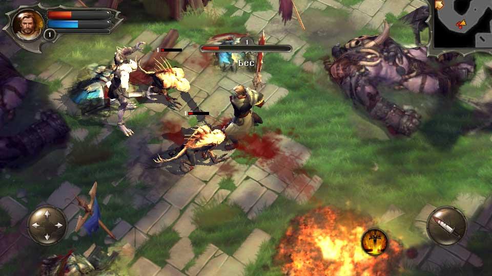 Dungeon Hunter 4 на андроид