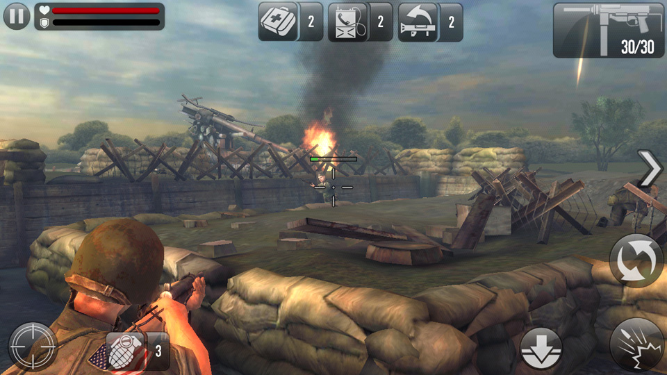 Frontline Commando: Normandy на андроид