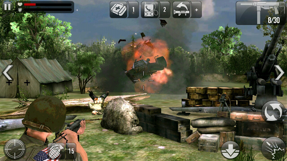 Frontline Commando: Normandy на телефон