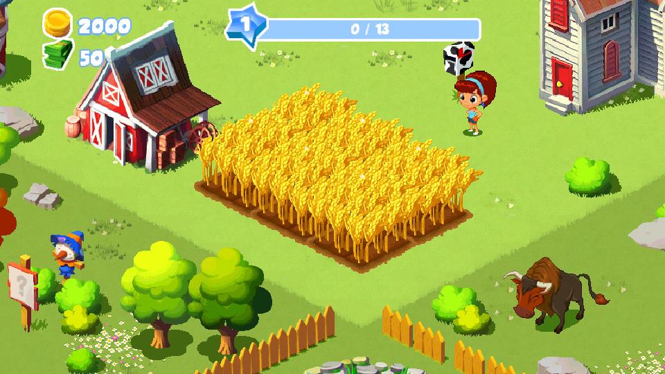 Зеленая ферма 3 на телефон