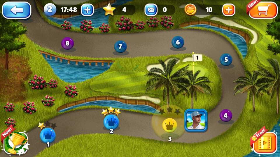 King of the Course Golf на телефон