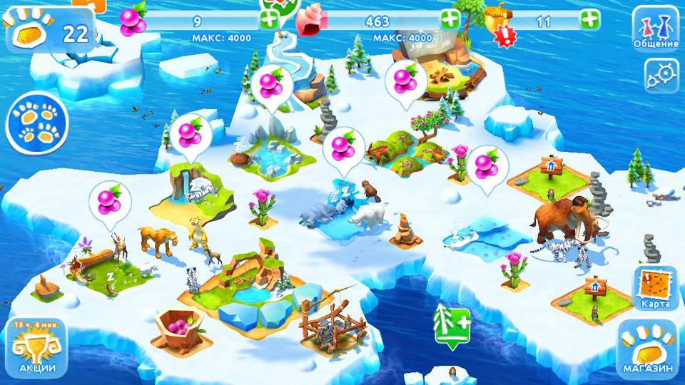 Ледниковый Период: Приключения на андроид