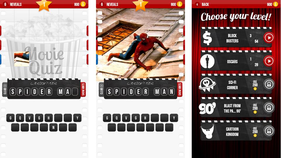 Киновикторина - Movie Quiz на андроид