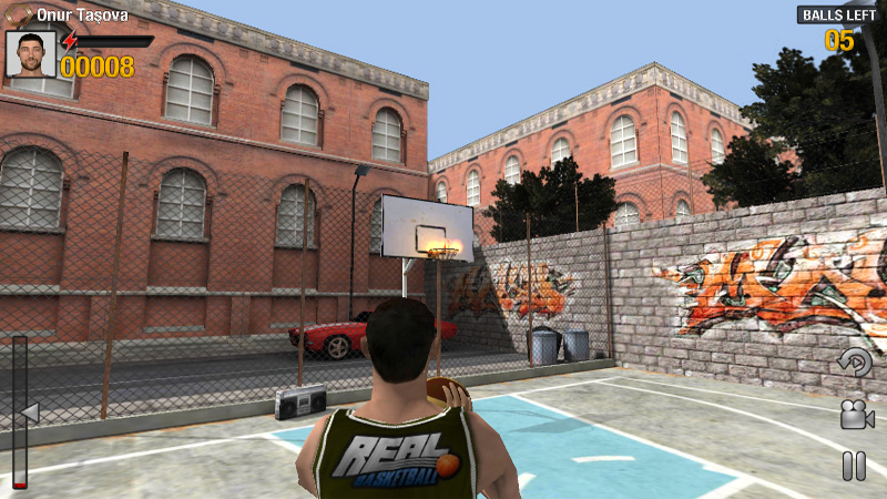 Real Basketball на андроид