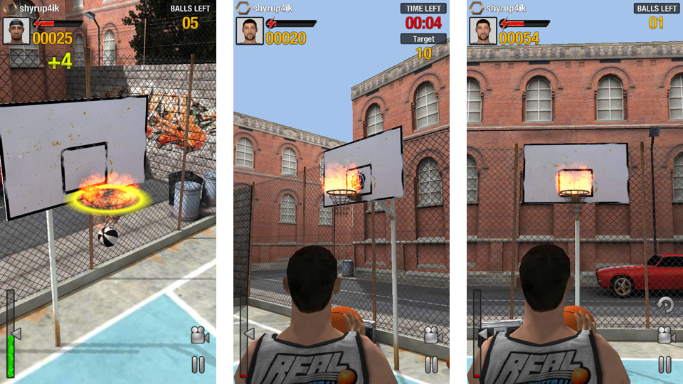 Real Basketball на телефон