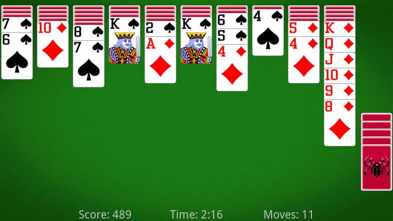 Spider Solitaire на андроид