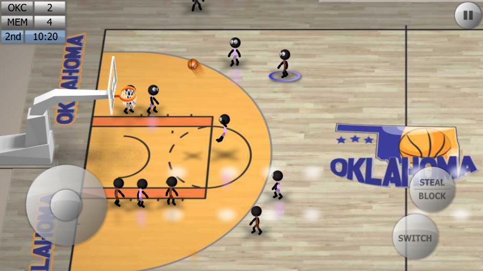 Stickman Basketball на андроид