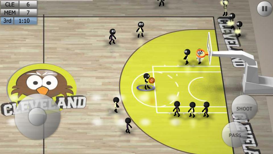 Stickman Basketball скачать