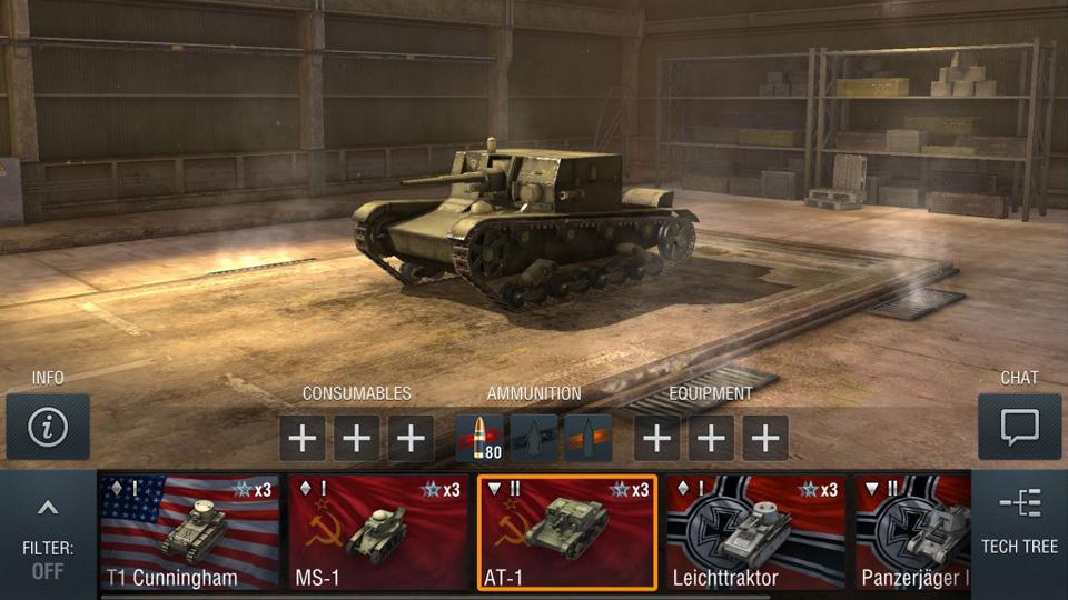 World of Tanks Blitz на телефон