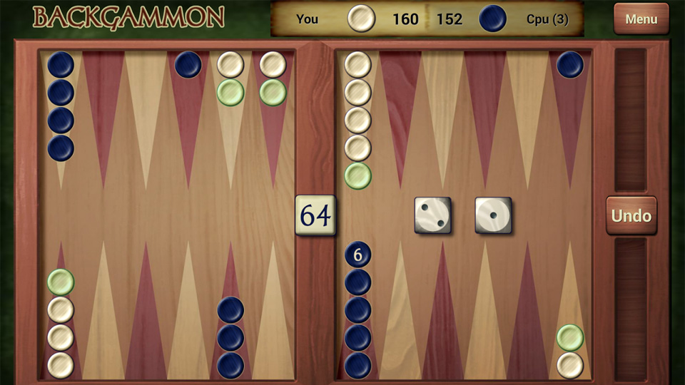 Backgammon на андроид