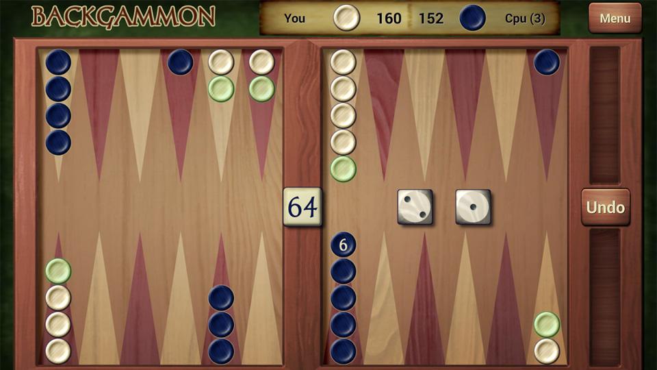 Backgammon на андроид