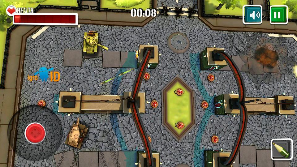 Боевые Танки 3D: Армагеддон на андроид