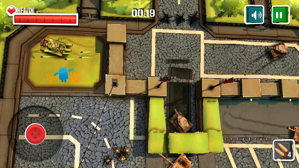 Боевые Танки 3D: Армагеддон на телефон