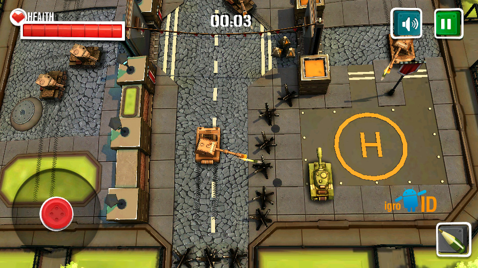 Боевые Танки 3D: Армагеддон скачать