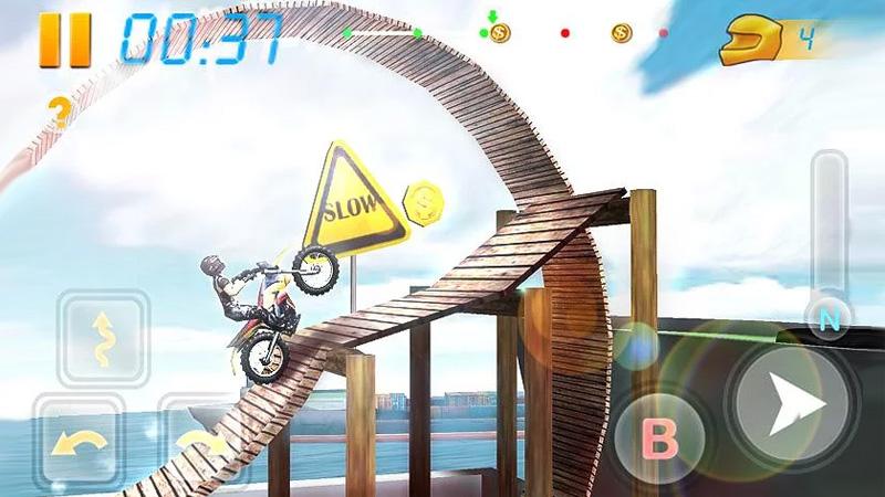 Bike Racing 3D на телефон