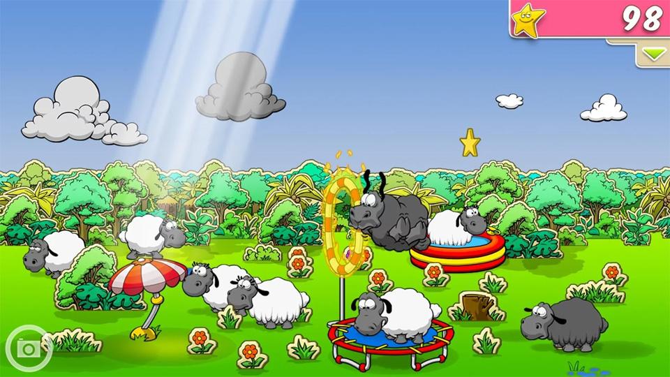 Clouds & Sheep на андроид