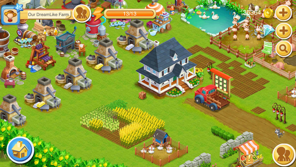 Happy Farm: Candy Day на андроид