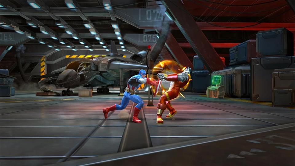 Marvel: Битва чемпионов на андроид