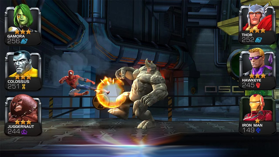 Marvel: Битва чемпионов на телефон