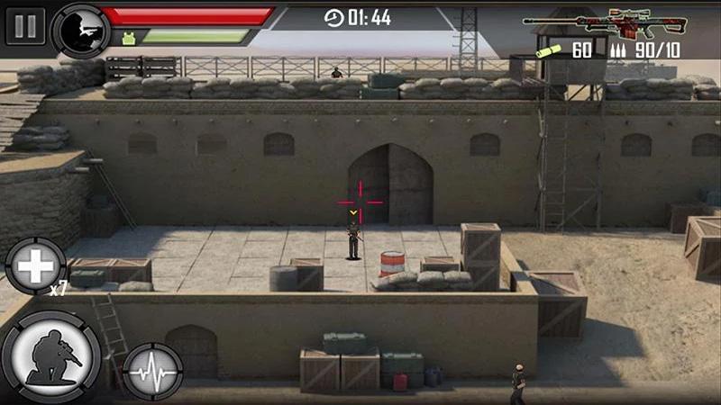 Modern Sniper на андроид