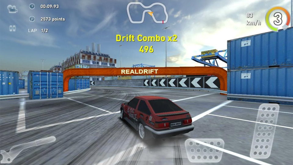 Real Drift Car Racing на телефон