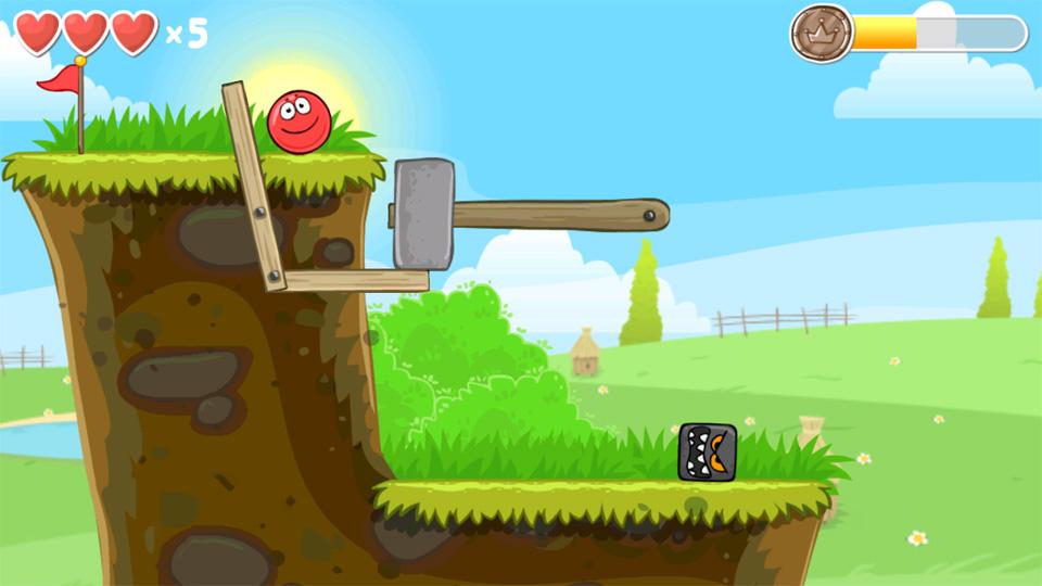 Red Ball 4 на андроид