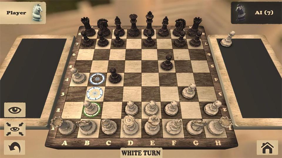 Шахматы 3D на андроид