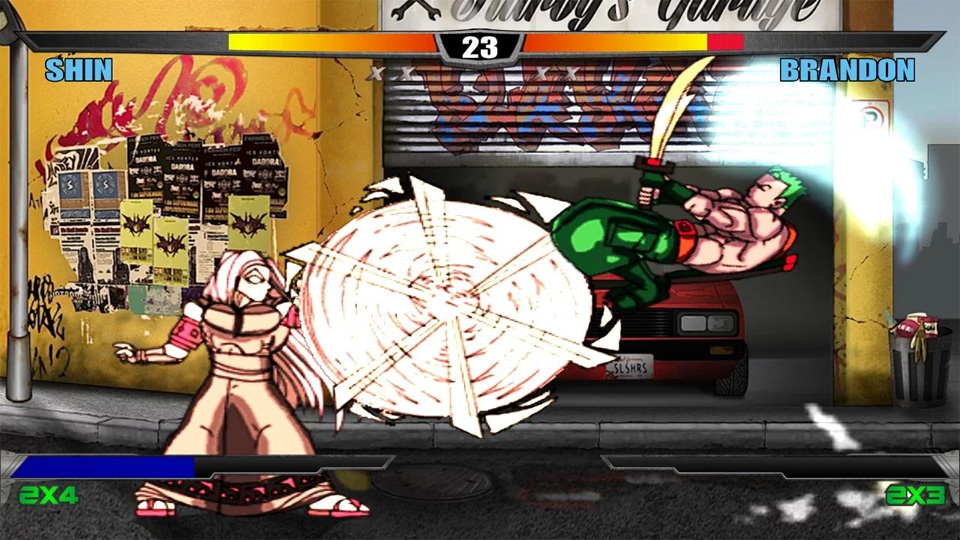Slashers: Intense 2D Fighting на андроид