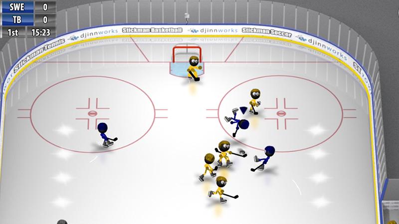 Stickman Ice Hockey на андроид
