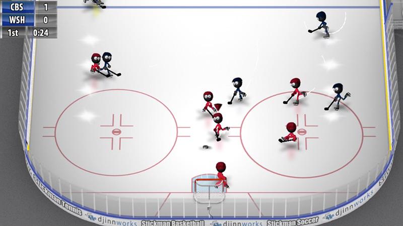 Stickman Ice Hockey на телефон