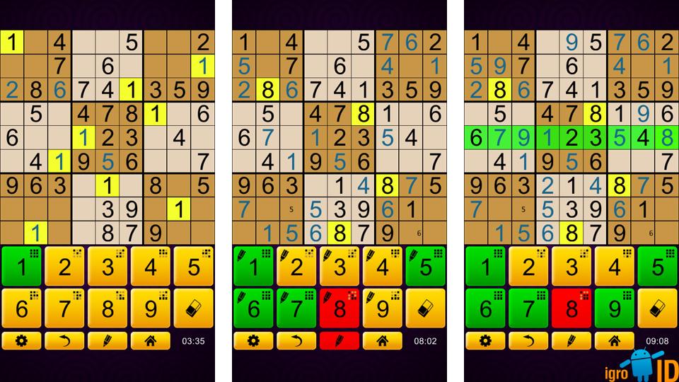 Sudoku Epic на андроид