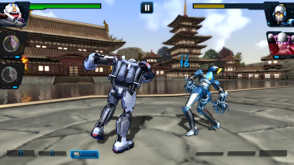 Ultimate Robot Fighting на андроид