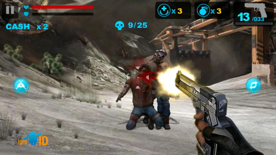 Zombie Frontier на андроид