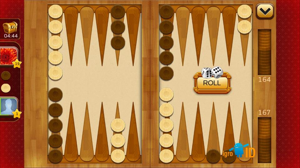 Backgammon Plus на андроид