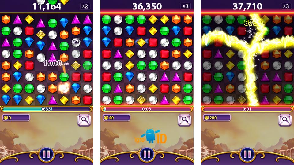 Bejeweled Blitz на андроид
