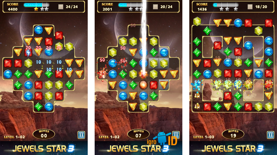 Jewels Star 3 скачать