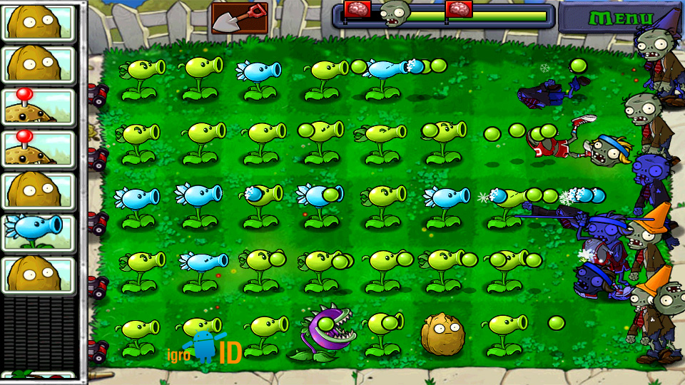 Plants vs. Zombies на телефон
