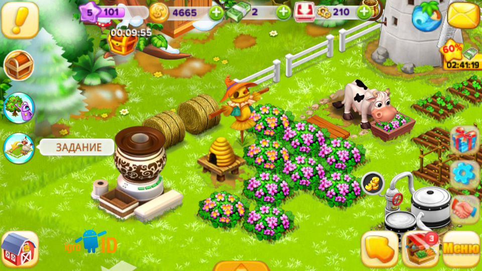 Семейная Ферма на телефон