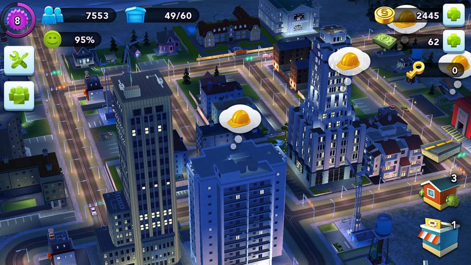 SimCity BuildIt на андроид