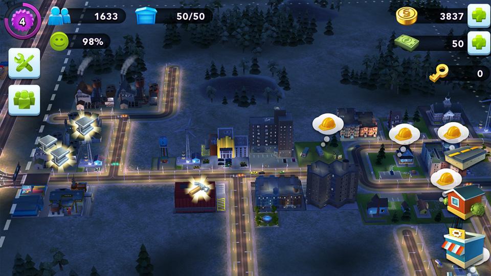 SimCity BuildIt на телефон