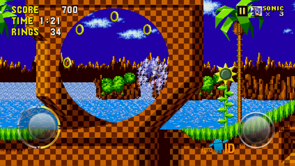 Sonic The Hedgehog на андроид