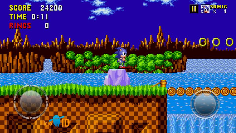 Sonic The Hedgehog на телефон
