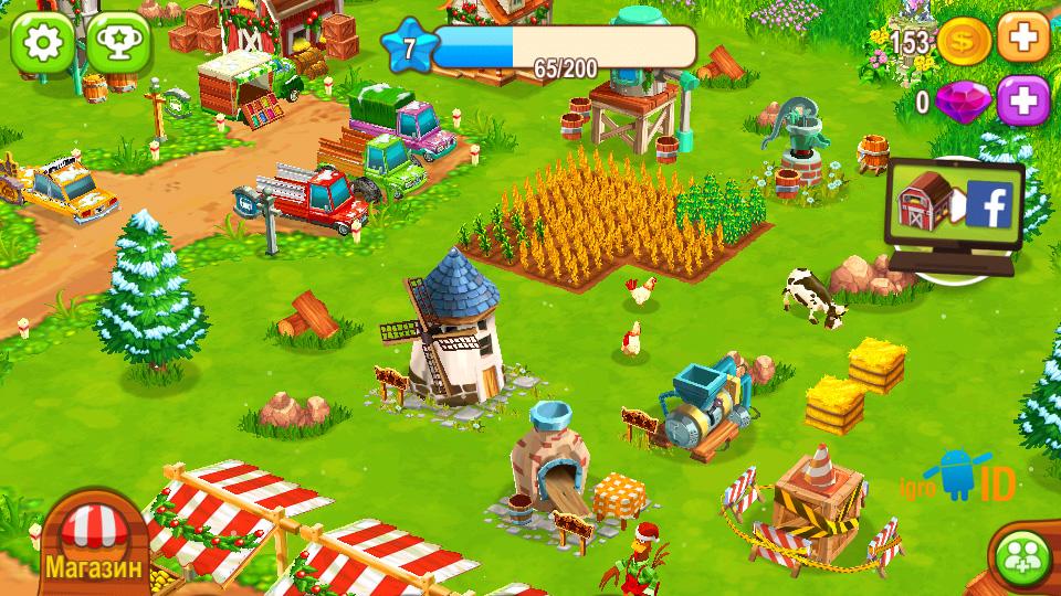 Top Farm на телефон