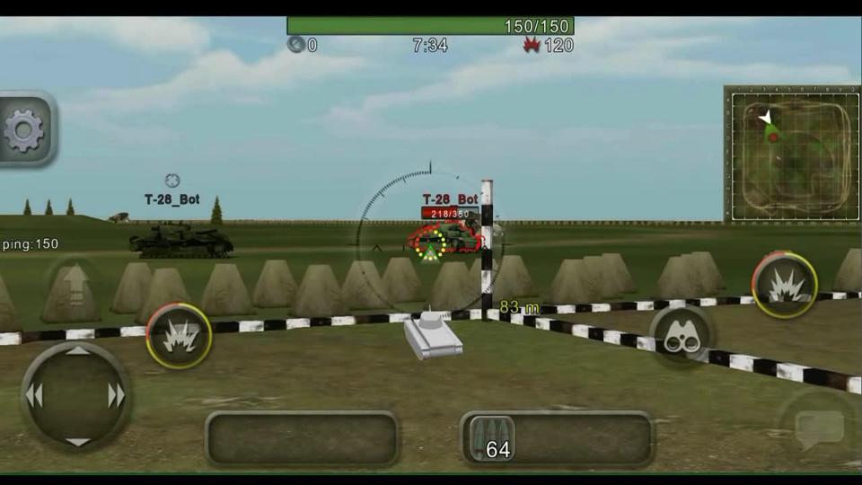 Wild Tanks Online скачать