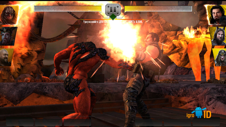 WWE Immortals на телефон