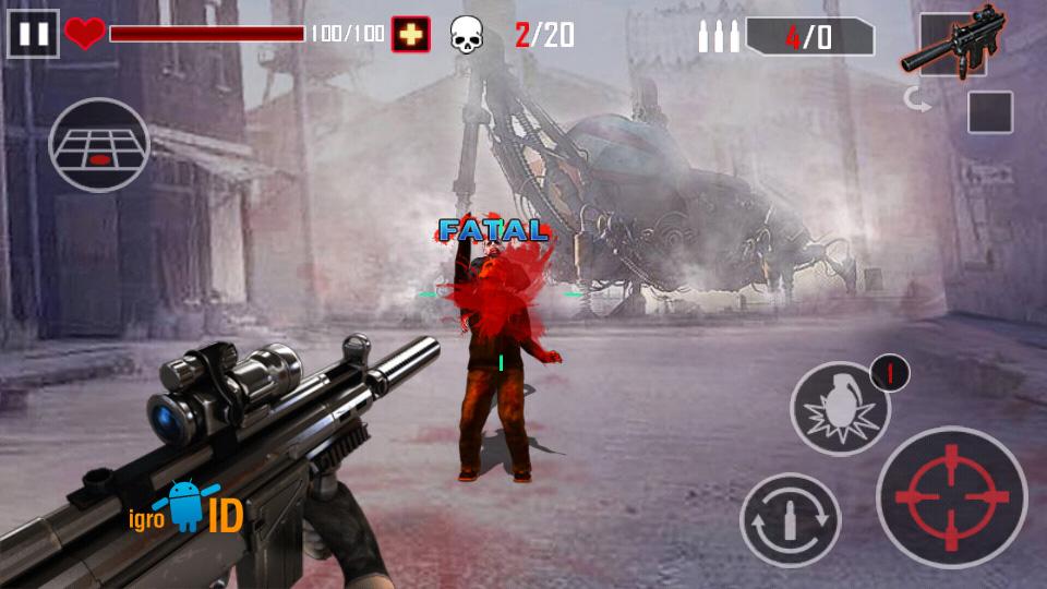 Zombie Killer на андроид